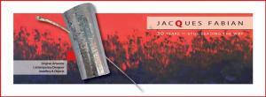 Men's Lapel on Jindy Burning by Jacques Fabian