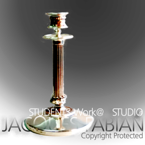 Stirling Silver Candelabra by James